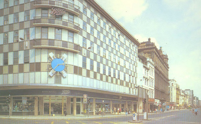 Boots Corner, Argyle St and Union St, Glasgow. by Jimmy1361, via Flickr