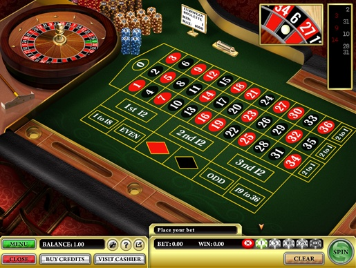 European #Roulette is the most commonly played version of online roulette. The aim of the game is to guess where the spinning ball will stop on the roulette wheel. The winnings depend on the type of bet.