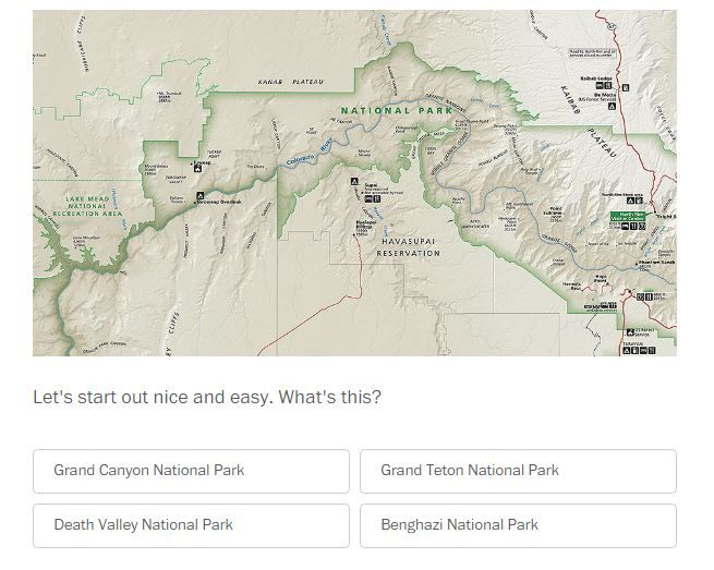 Can You Name These National Parks