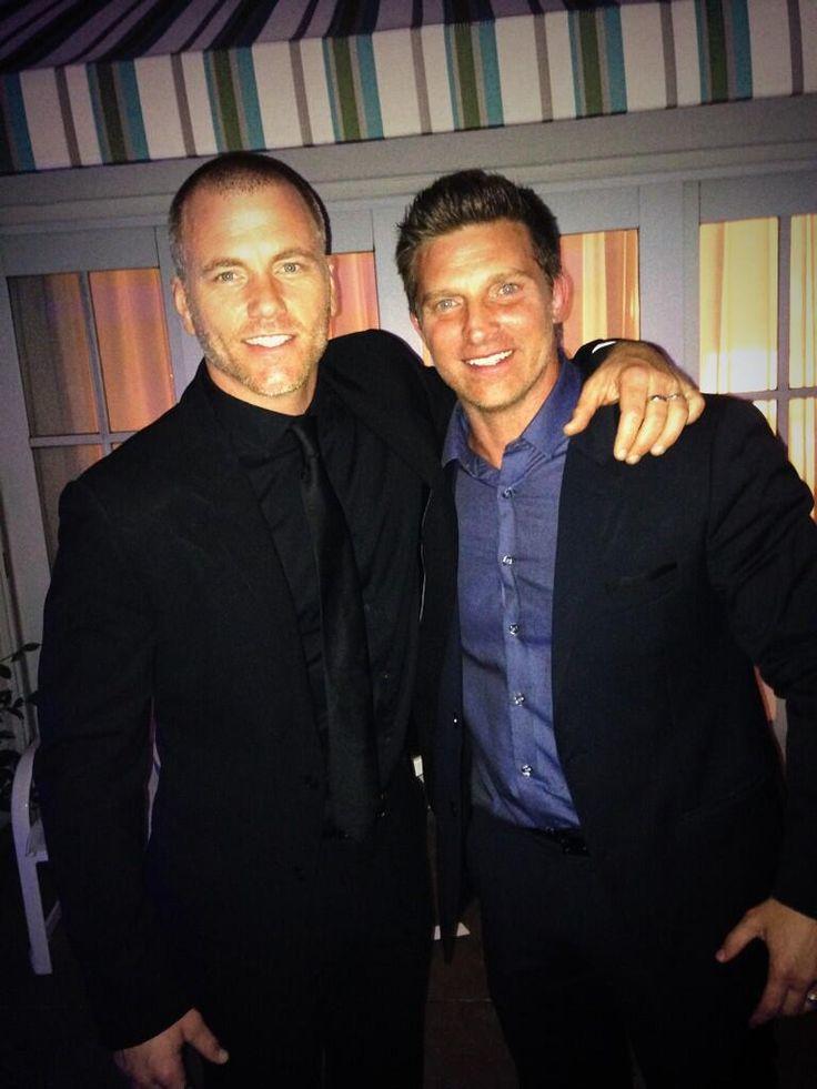 Sean Carrigan and Steve Burton at the Emmys! -  June  2014  |  twitter.com/MhfImZZbU3
