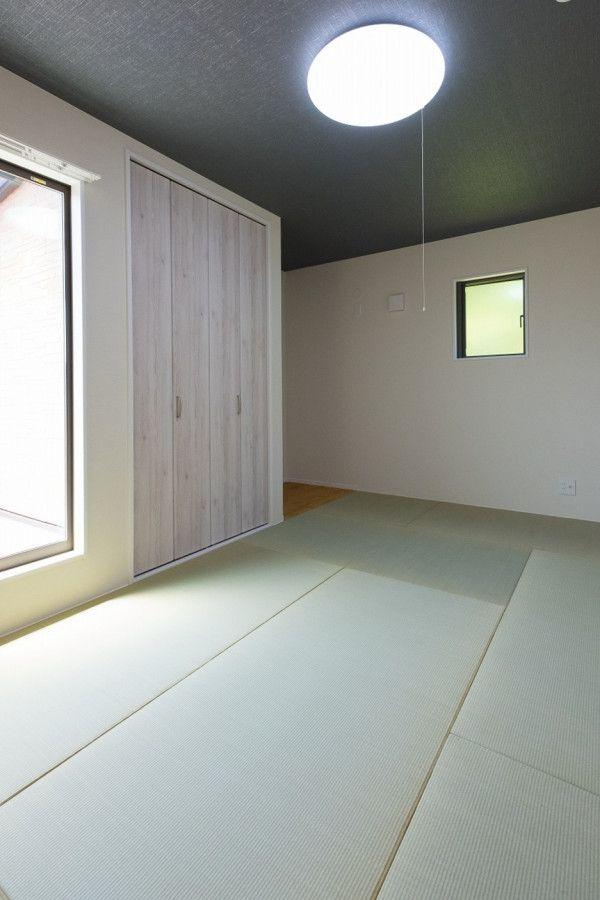家族の想いが詰まった家 キノハウスの写真集 和室 和室 天井 壁紙 家