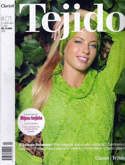 Linda Revista de dos agujas ~ Dos Agujas y Crochet