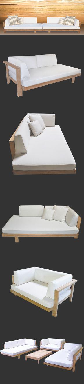Möbel 2 recamiere plus 2 halbe weinfässer als Tisch mit steimplatte zum verbin…
