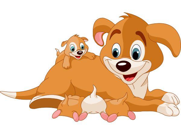 Mama and Pups