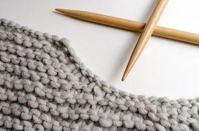 Comment créer la forme d'un col sans rabattre les mailles et en faisant des rangs courts | The Blog