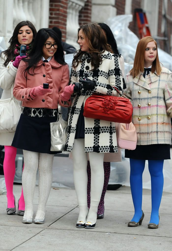 blair waldorf style winter wwwpixsharkcom images