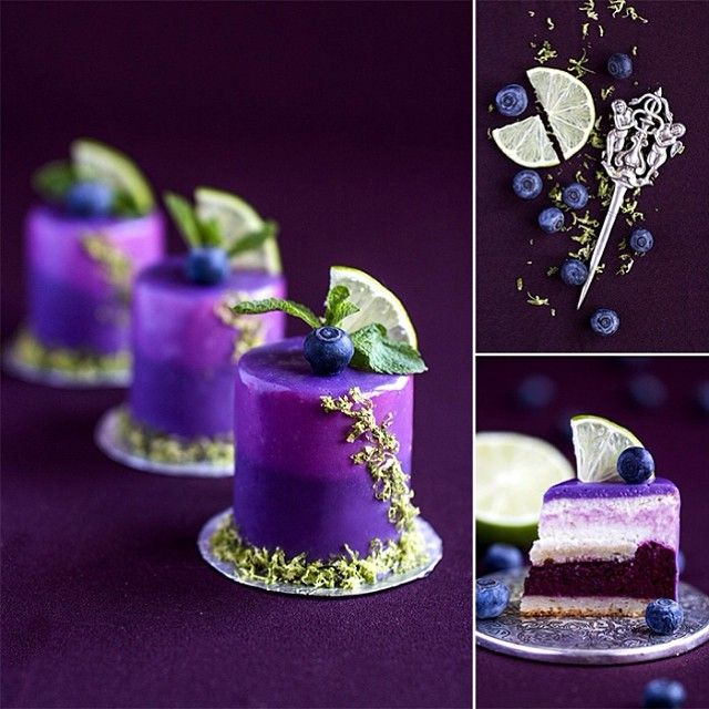 Vegetarian individual cakes: Indian sponge cake without eggs and butter; lime mousse a... | Use Instagram online! Websta is the Best Instagram Web Viewer!