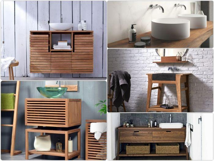 1000+ ideas about badmöbel holz on pinterest | waschtisch holz, Moderne