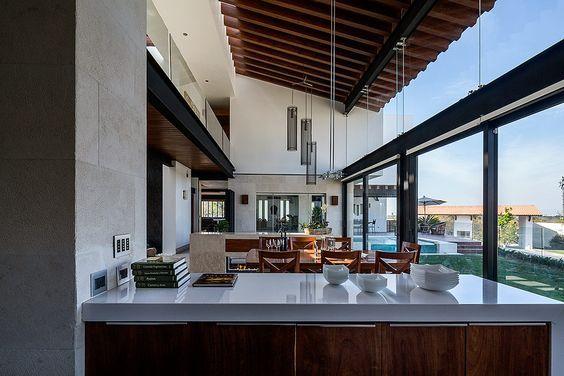 Arquitectura contempor nea mexicana en quer taro for Fachadas de casas modernas en queretaro