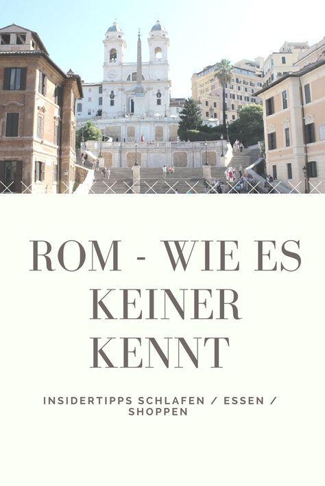 Aug 29 Rom: alte Liebe – neu entdeckt!