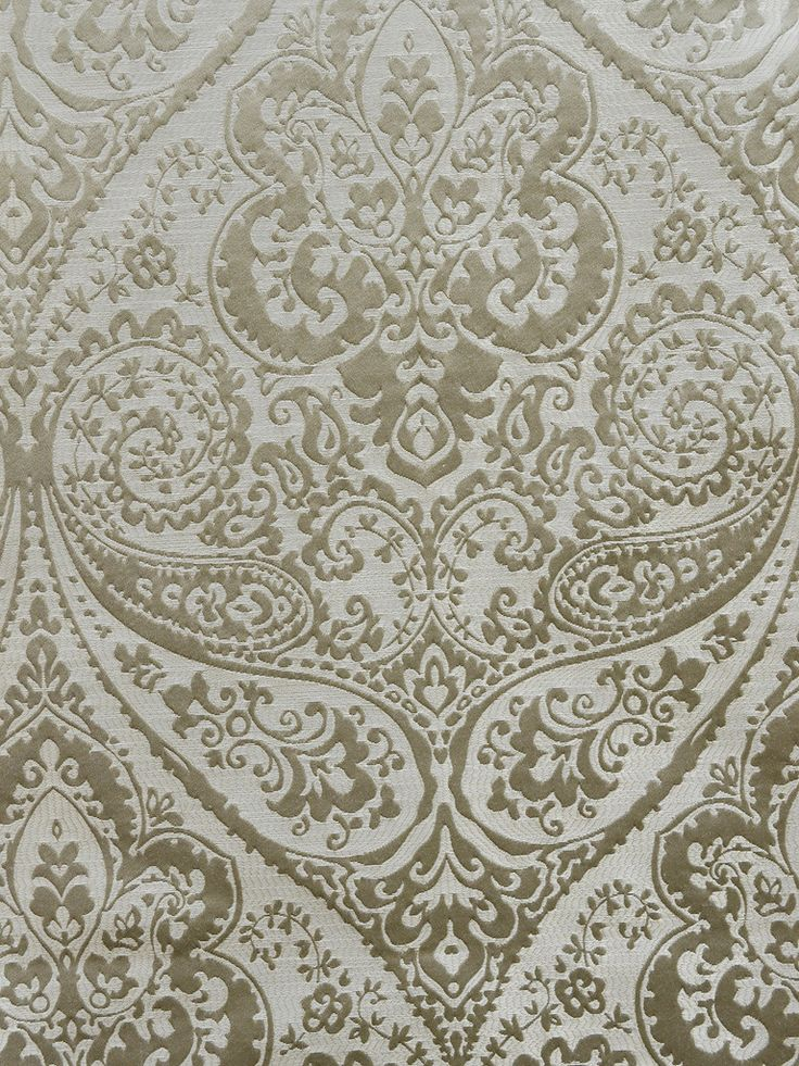 DAMASK LUCIDO FLOWER SILVER #black-gray-silver #various #woven-fabrics