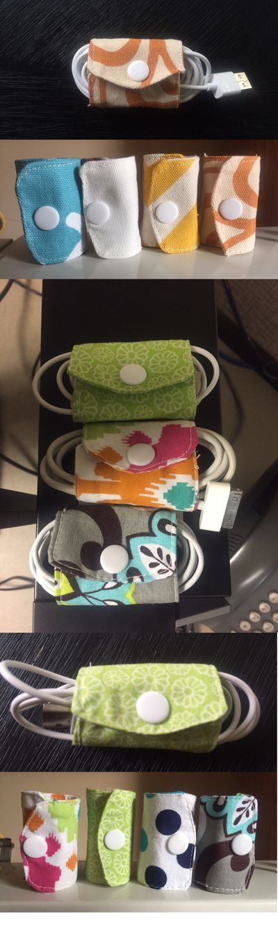 DIY Cord Keepers Inspired by:  http://leafytreetopspot.blogspot.com/2013/05/tutorial-diy-cord-keeper-from-fabric.html?m=1