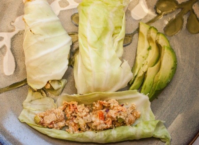 recipe: chickpea salad cabbage wraps with cashew dill sauce ‹ This ...