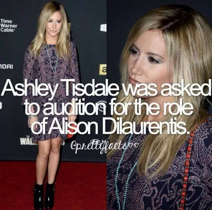 Eww I am so glad this didn't happen. She would not make a good A! Pretty little liars #fact