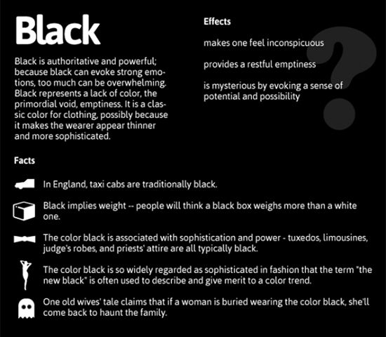 colorful emotions effects of black color psychology