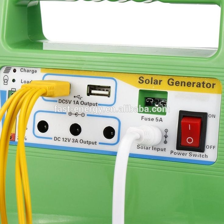 Portable Small Solar Generators 12V DC 5w 10W Home Solar Power System with Solar Panel and LED Blubs