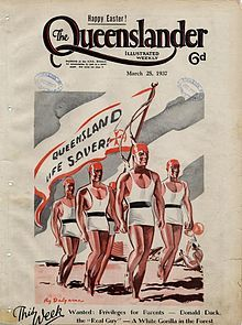 Illustrated front cover from The Queenslander, March 25, 1937.jpeg