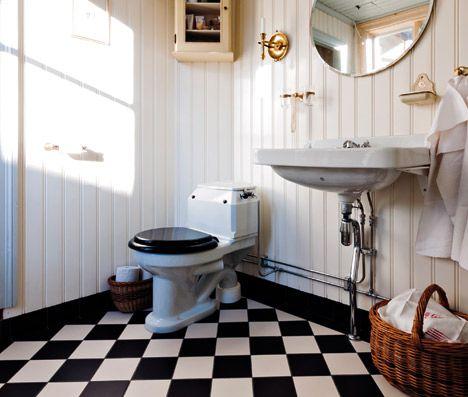 Nya Badrum I Gamla Hus G 229 Rd Och Torp Bathroom Pinterest