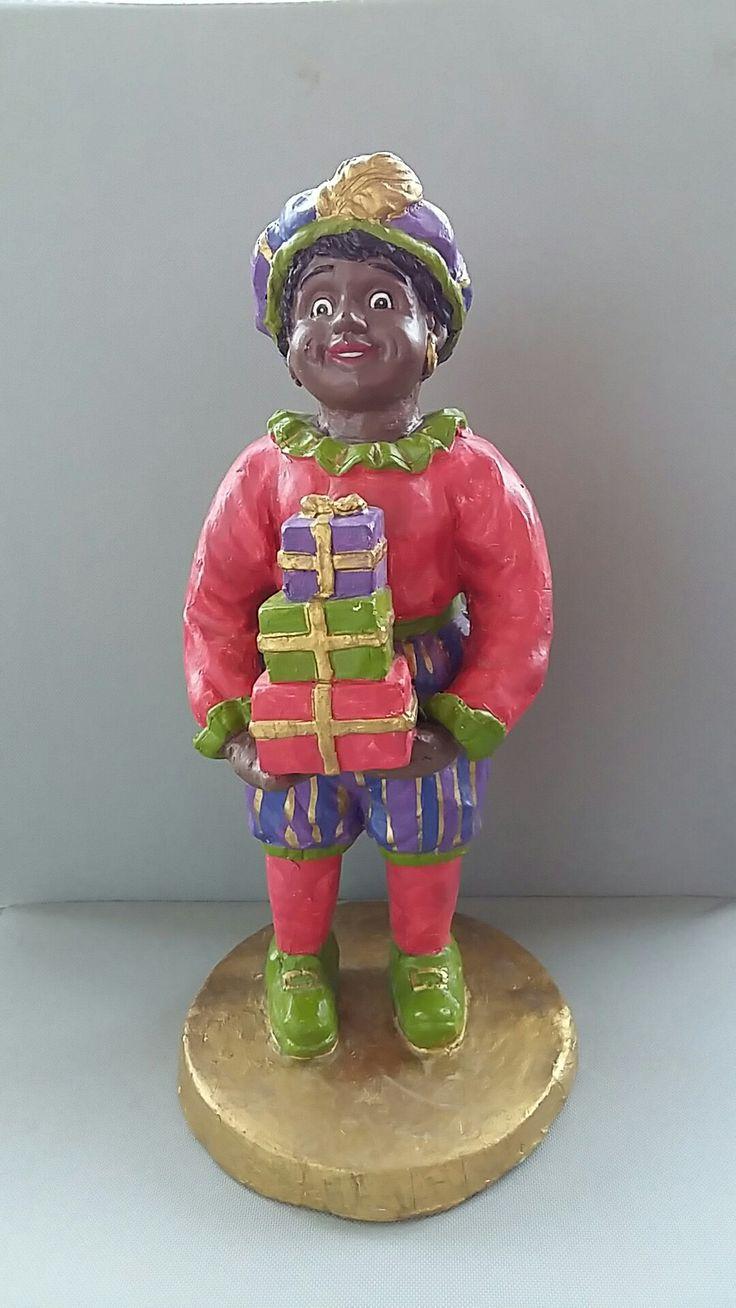 Zwarte Piet etalage beeld