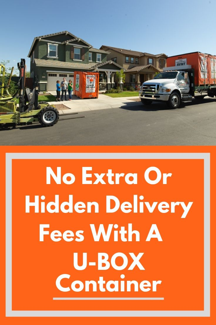 U haul containers