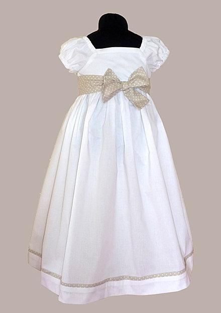 Empire waist dress-elegant and classic