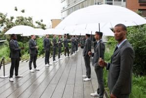 Guests arriving at USA Network's event atop the High Line in New York last summer found a receiving line of umbrella-wielding staffers, who provided shelter all the way to the entrance of the covered bash.