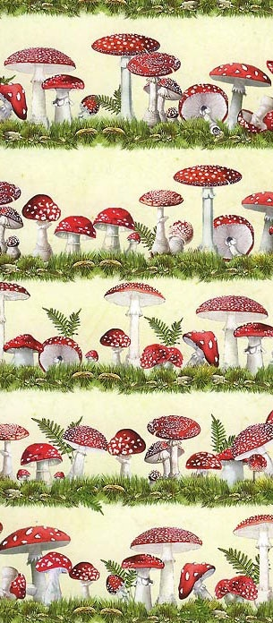 great site for interesting crafty items including Mushroom crafting paper made in Germany