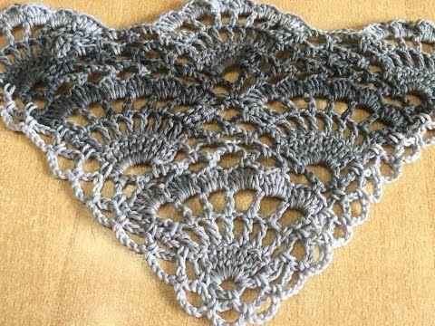 Châle Soleil crochet magnifique / Hermoso chal tejido a crochet - YouTube