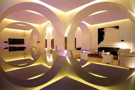 Stunning design of he ABaC Hotel in Barcelona, Spain