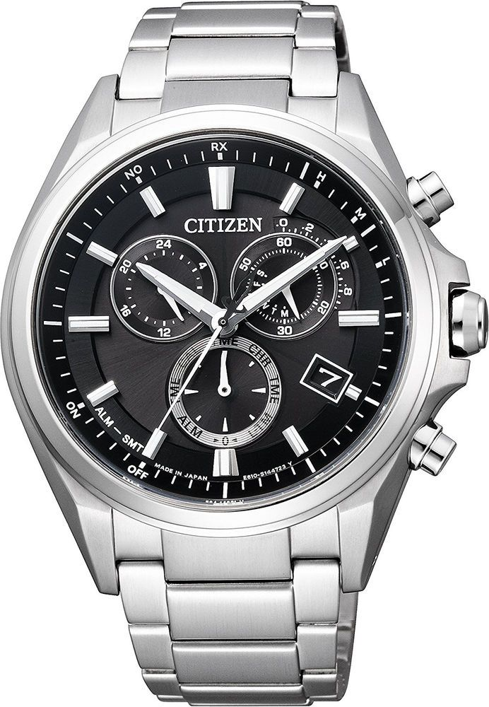 CITIZEN Radio Watches ATTESA Eco-Drive Chronograph JAPAN MODEL Mens from Japan #CITIZEN