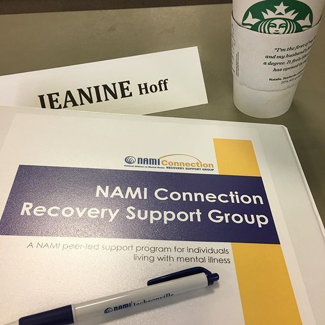 Training to become a @namicommunicate's Connection Recovery Support Group facilitator  #mentalhealth #mentalillness #mentalhealthadvocacy #mentalhealthmatters #mentalhealthawareness #stress #recovery #anxiety #ocd #ptsd #bipolar #bipolar2 #postpartum #schizophrenia #selfcare #support #love #teen #heal #hope #survivor #fitness  #quotes #quoteoftheday #inspiration #motivation #whereisthesunshine