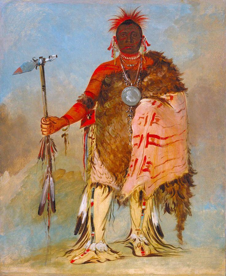 Om-pah-tón-ga, Big Elk, a Famous Warrior