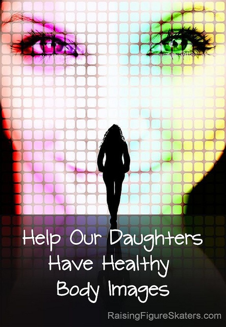 """Help Our Daughters Have Healthy Body Images by Deb Chitwood.  This blog post has a great video with a parody of Photoshop, the software the majority of magazines use to """"beautify"""" their models."""