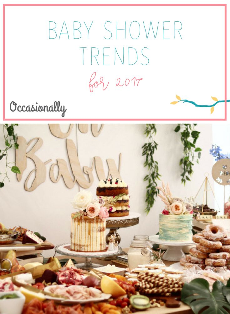 Baby Shower Trends 2017
