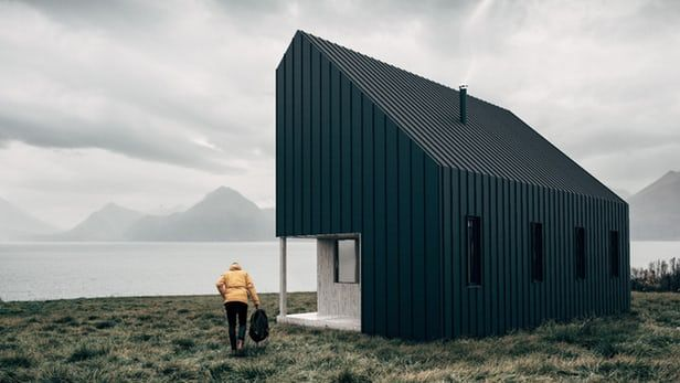 """These are the Sleek Backcountry and Front Country Huts by Backcountry Hut Company. This innovative design will arrive """"flat packed"""" and can be assembled much like Ikea furniture. It&#82…"""