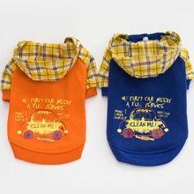 Naranja ropa de Moda para perros yorkies azul ropa para perros chihuahua Chaqueta de invierno para perros ropa para perros mascotas pequeñas chaquetas de la capa(China)