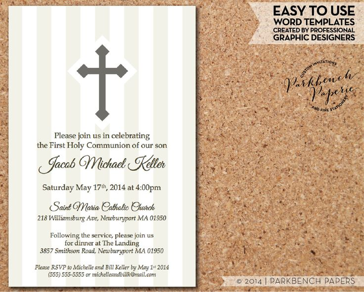 465 best images about Invitations on Pinterest First communion - professional invitation template