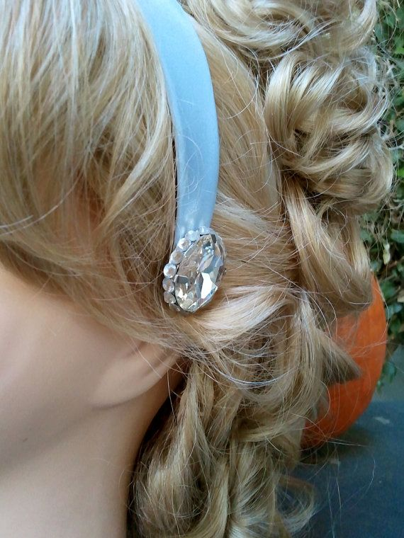 Children's Cinderella Costume Headband with Large Crystal Jewels on Etsy, $25.00