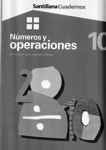 Números y operaciones 10 - División por varias cifras