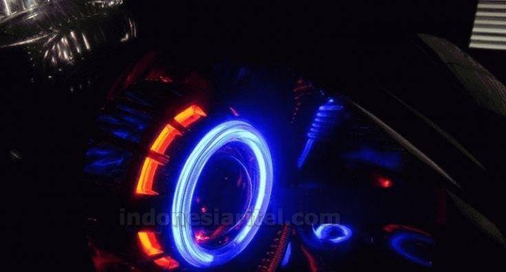 HID H1 35Watt Slim Ballast + Projector Double Angle Eyes (AE) + Devil Eyes (DE) AA0037-0009
