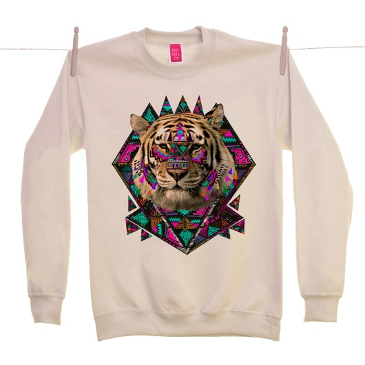 Image of Ohh Deer - Wild Magic - Sand Sweater By Kris Tate