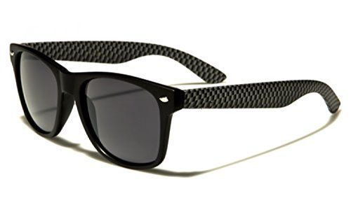 Black Checkered Retro Vintage Wayfarer Sunglasses Non Flexi Hinges - Full UV400 Protection - Includes Protective Pouch & Cleaning Cloth - Unisex (Black & Checkered Frame Black Smoked Lenses) Nero Eyewear http://www.amazon.co.uk/dp/4954007631/ref=cm_sw_r_pi_dp_NB10wb1TY44MT