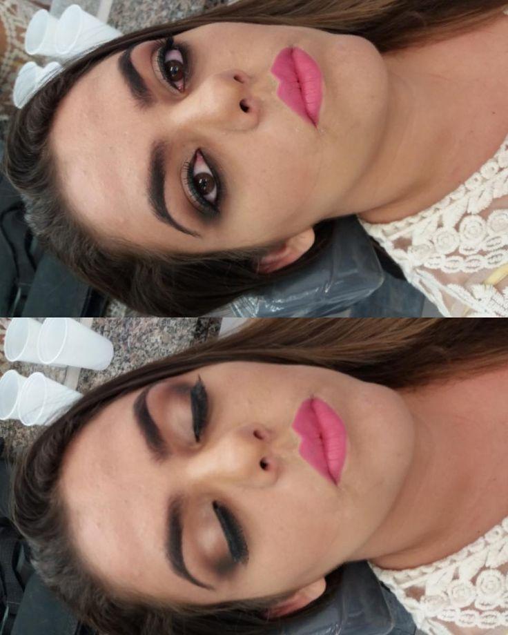 Bom dia lindaas !! Make esfumadinha feita ontem no curso de maquiagem ! O que vocês acharam?!   #aneehalves #instabgs #institutoembelleze #bgs #panelaobgs #maquigem #maquiadoraprofissional #maquiagemprofissional #maquiagemesfumada #make #makeup #noiva #makenoiva #cursodemaquiagem #uniaodeblogsvp #saojosedoscampos #sjc #jacarei #valedoparaiba #embelleze #saopaulo