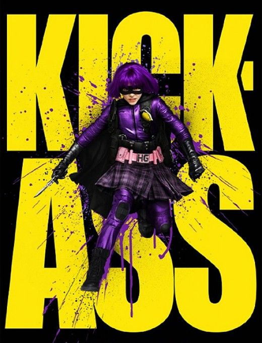 It was an exhillarating, exciting tale of young superheros (and some old) taking on, well, pretty much the world. With an assortment of intriguing and powerful characters, it's a great idea to dress up as one for a special occasion.   Hit Girl being...