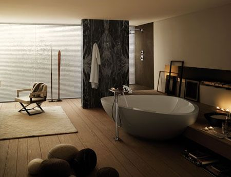 A more intimate setting with so much love #InteriorDesign #Axor #LuxuryBathrooms #LuxuryLiving
