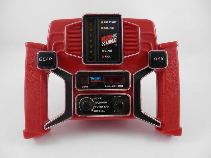Details About Kenner Redline Handheld Electronic Game