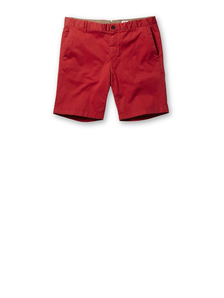 C.P. Company Stretch Ottoman Shorts in Red