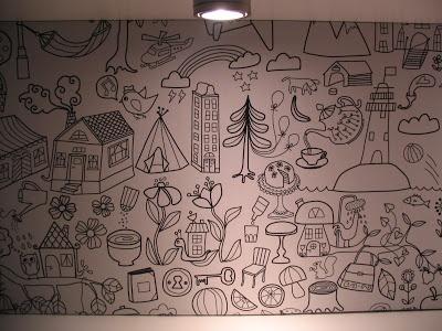 Ikea TIDNY fabric covered noticeboard. deecreated