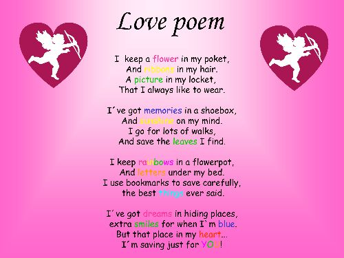 1000+ Ideas About Cute Poems For Him On Pinterest