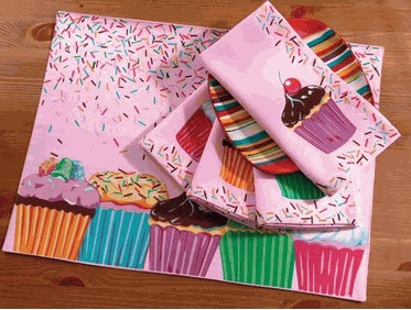 <3Cupcakes Stuff, Dreams Kitchens, Cupcakes Places Mats, Cupcakes Decor, Cupcake'S Places Mats, Sloan Corner, Inspiration Birthday, Sloan Blog, Bakeries Inspiration